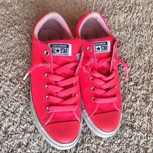 Converse All Star Low Tops Cerise Pink